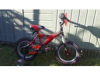 RALEIGH KIDS BIKE 14""