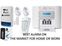 HOME, OFFICE, WORK BURGLAR ALARM SYSTEM WITH PHONE DIALLER ADT HONEYWELL VISONIC TEXECOM YALE TYCO