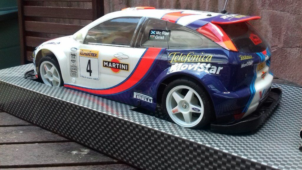 Remote Control Ford Focus 1 10 Scale Rally Car Mccrea Grist In