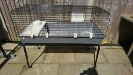 Ferplast 120 indoor guinea pig/rabbit cage and stand