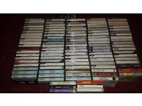 Music Cassettes Job Lot x 112