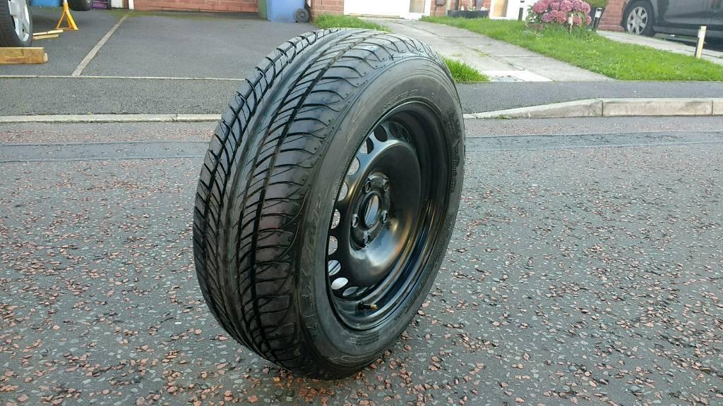 Falken 205/60 R15 91V Brand New Tyre with Steel Wheel