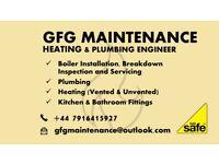 Gas Safe Engineer - Plumbing and Heating