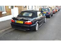 BMW convertible for sale good condition excellent runner Please contact if you are very interested