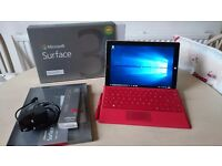 Microsoft Surface 3 - 128GB SSD 4GB RAM - with Type Cover and Pen