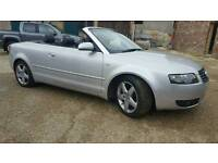 Audi a4 convertible 2.4 v6 will take p/x or swap
