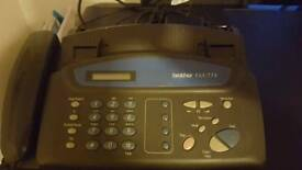 Brother Fax T74 Fax Machine