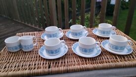 2 x vintage china tea sets wedding, candles, shop prop (still available)