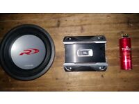 Alpine 12 inch Subwoofer - Power Cap - Jbl Amplifier