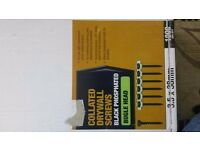Wanted COLLATED DRYWALL SCREWS 3.5 X 38MM