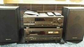 Techniks stereo system