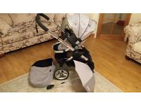 iCandy Peach 2 Stroller in Silver Mint