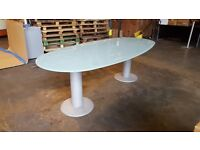 Glass Boardroom Table / Meeting Table