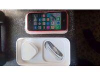 Apple Iphone 5c 16GB Pink Sim Lock EE, ORANGE,T-MOBILE