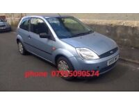 ford fiesta style 1.4 3door 2005 55 plate 207 corsa polo