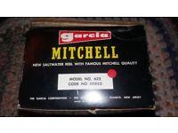 Mitchell Garcia salt water fishing reel. Model no.622