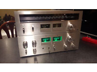 Vintage Pioneer SA-606 Amplifier & TX-606 Tuner Full Working Order £150 OVNO