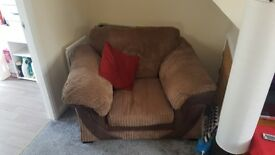 Very big sofa set. Good condition. Selling as need a space in living room