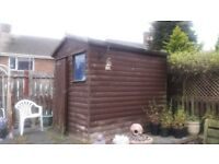 Shed 6x7 good condition well looked after no leaks