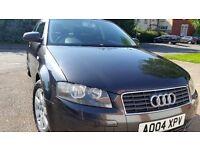 Audi A3Tdi long mot service history cheap on fuel tax economical tidy cd alloy good runner £1295