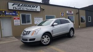 2013 Cadillac SRX 1 OWNER OFF LEASE-FACTORY WARRANTY-TOUCH SCREE