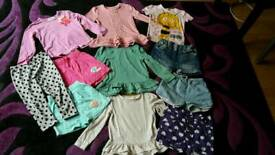 Girls bundle of clothes 12-18m