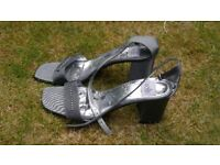 Wallis shoes for evening out great heel for dancing ..