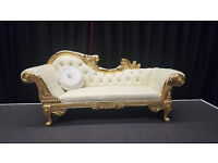 wedding throne chairs, wedding sofa for hire, special occasion decor service available London/kent