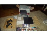 Ps3 320gb boxed with games.
