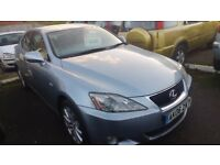 LEXUS IS 220d 2.2TD 2006 DIESEL full mot leather