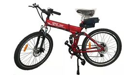 "Brand New eBike - Powered Folding Electric Mountain Bike - 36V/26"" li-lion Battery - FREE DELIVERY"