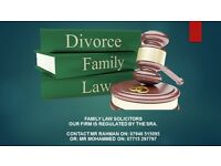 Family Law Solicitors, Divorce, Matrimonial, Child Arrangement, Non-Molestation and Financial matter