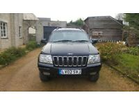 Grand cherokee. Automatic. Good solid 4wd. 2.2 diesel