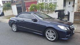 Mercedes-Benz E Class 2.1 E250 SPT CDI BlueEFFICIENCY SE Edition Plus 2dr Cabriolet (start/stop)
