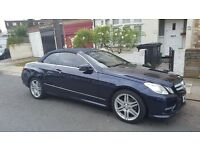 Mercedes-Benz E Class 2.1 E250 SPT CDI BlueEFFICIENCY SE Edition Plus 2dr Cabriolet (start/stop)