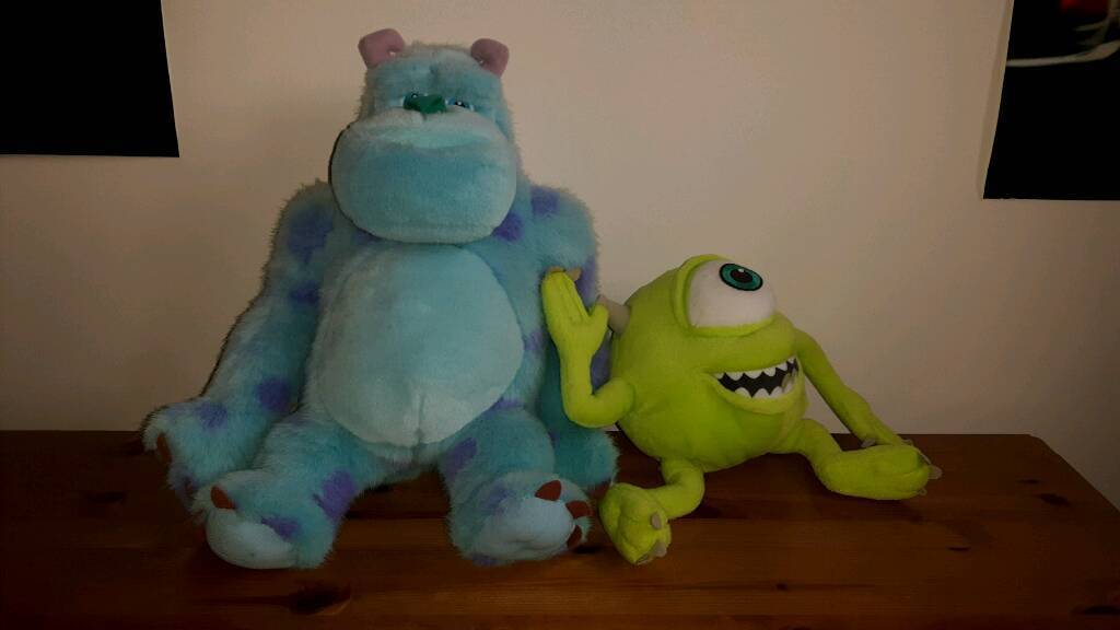 Mike & Sulley Soft Toys