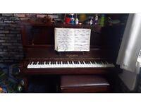 Churchill London Vintage Piano Good Condition