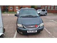 Cheap Chrysler Grand Voyager Limited for Spares or Repair fitted with LPG conversion