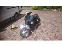 Vespa t5 172 malossi scooter