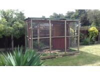aviary for sale, only 3.5 years old, excellent condition,