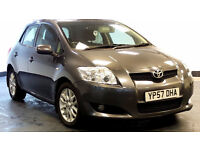 2007 57 TOYOTA AURIS 2.0 TR D-4D 5d 125 BHP *PART EX WELCOME*FINANCE AVAILABLE*WARRANTY AVAILABLE