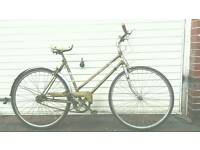 Ladies Puch traditional vintage townbike