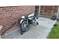 SkyTeam Ace 125cc Motorbike (Cafe Racer) (2016 66 plate, 250 miles, 1 owner)