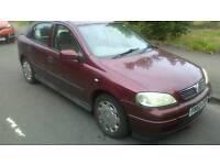 Vauxhall astra, motd till december