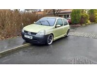 renault clio 1.4 16v for swaps for 7 seater