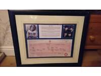 John lennon birth certificate picture
