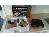 Nintendo 64 n64 limited edition boxed