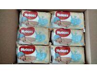 huggies pure 18 packs in a box £6