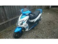 2013 13 Plate SYM Jet 4 50cc 4 Stroke Scooter Moped - 1 Owner - Full MOT