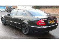 2003 03 MERCEDES E270 CDI AVANTGARDE 1 OWNER FROM NEW GENUINE LOW 79K MILES WITH FSH